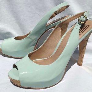 Pour La Victoire Aria sling back heels